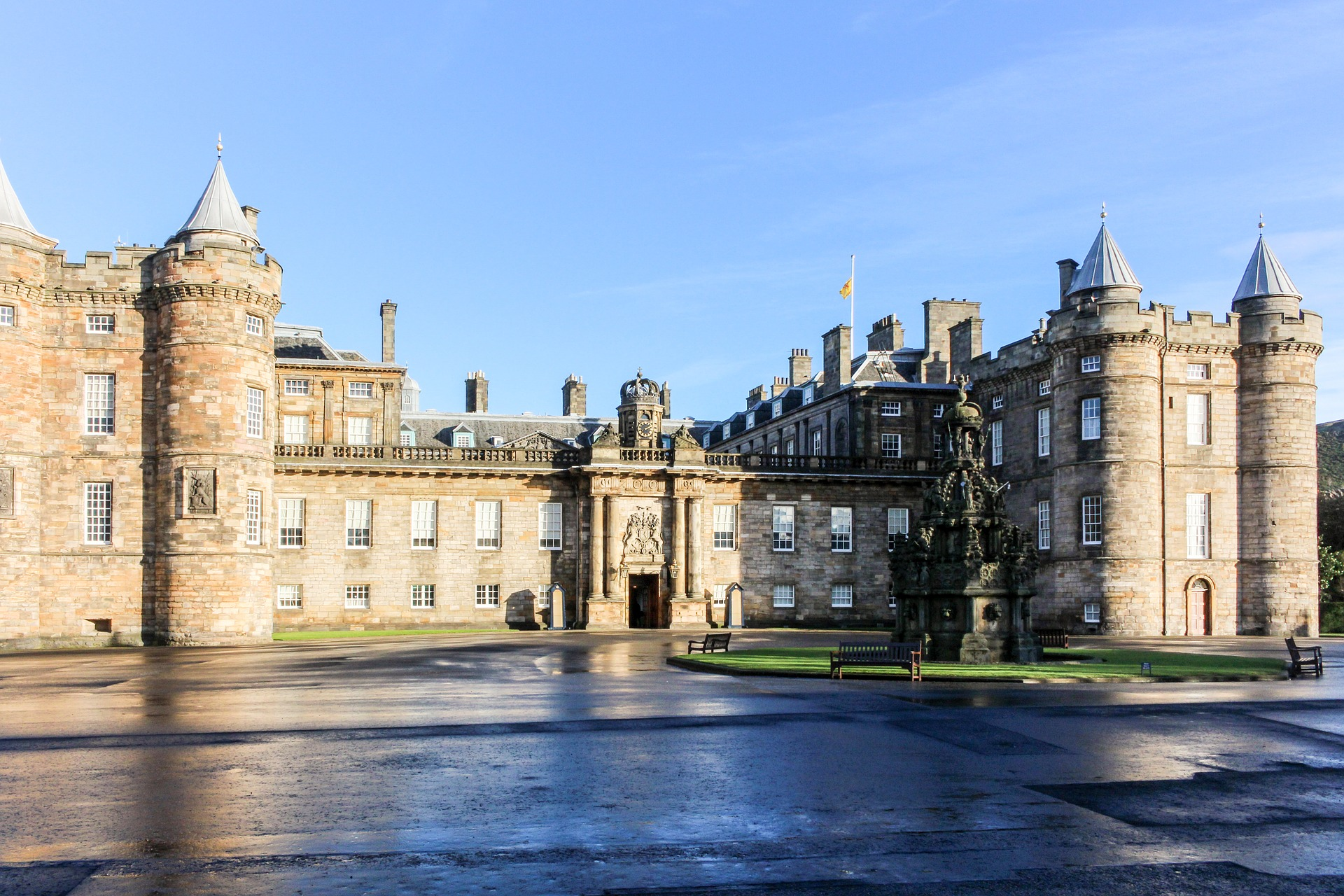 Historical places in Scotland