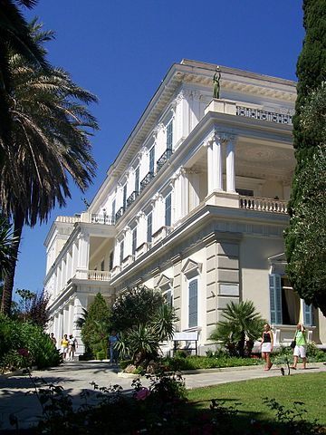 The Achilleion on Corfu