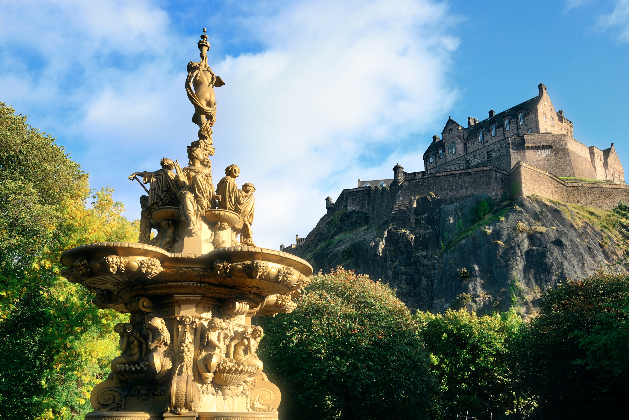 Historical places in Scotland you cannot miss: Edinburgh Castle