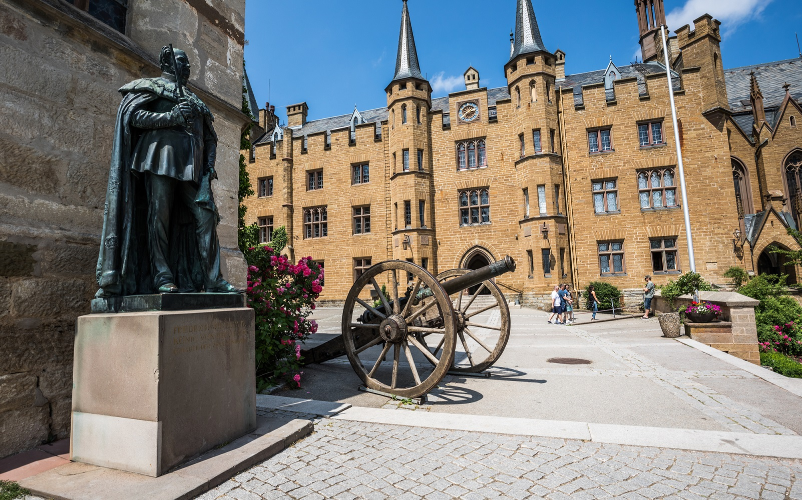 Historical places to visit in Germany: Hohenzollern Castle