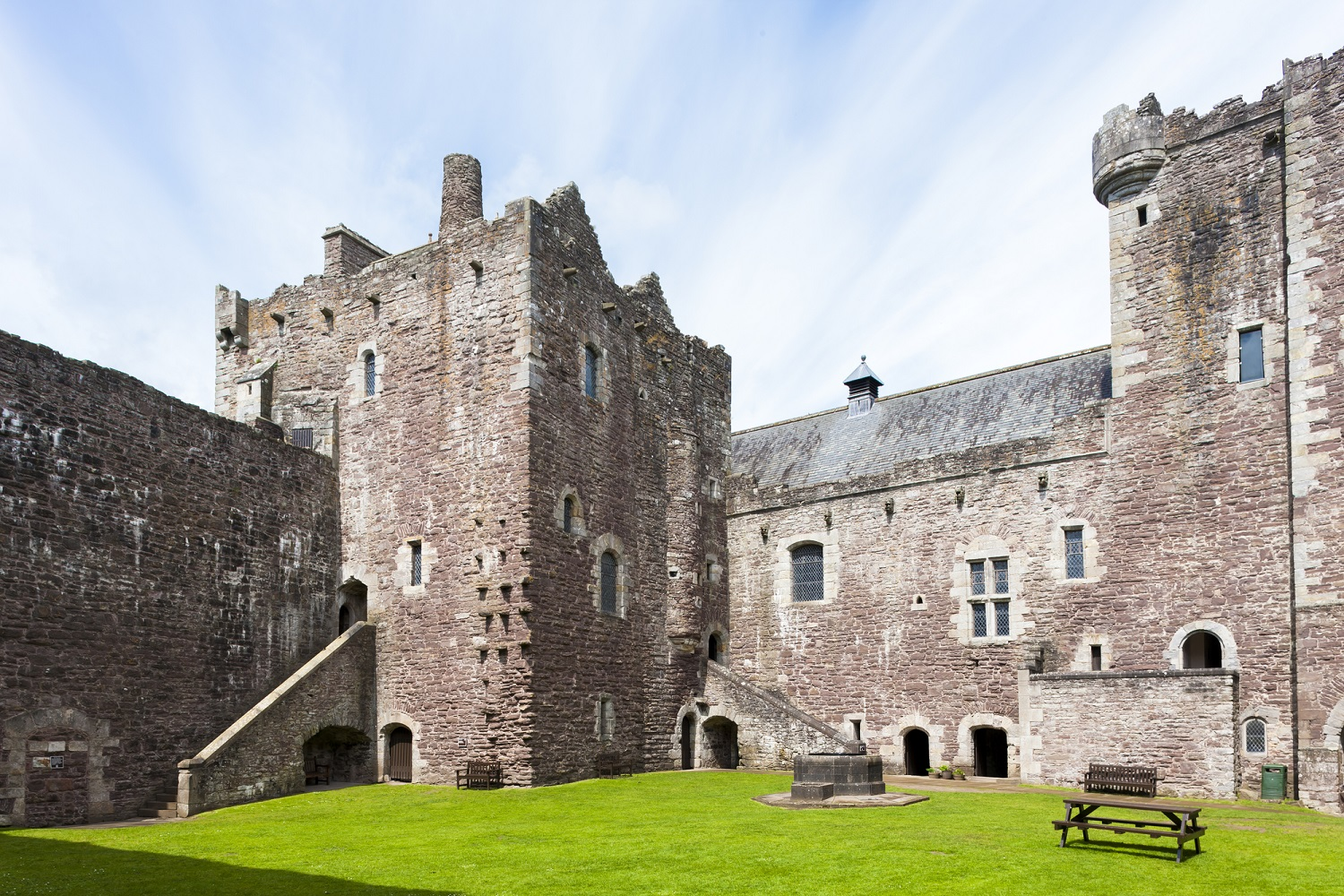 Historical places in Scotland: Doune Castle
