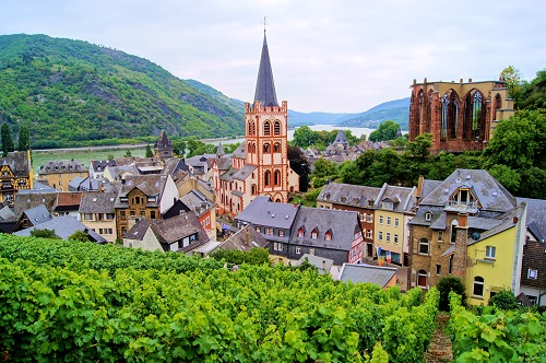 Historical places to visit in Germany: Bacharach