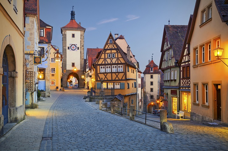 Historical places to visit in Germany: Rothenburg ob der Tauber